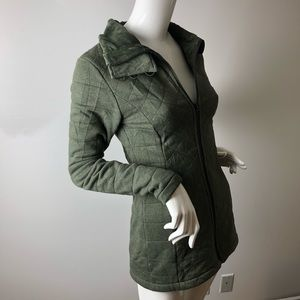 The North Face Hunter Green Fleece Jacket XS
